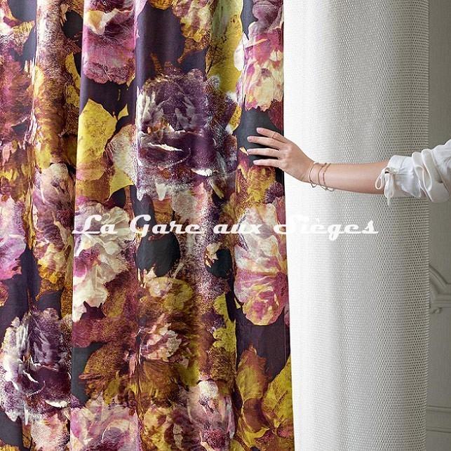 Tissu Rubelli - La Vie en Rose - réf: 30412.001 - Voir en grand