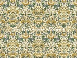 Tissu William Morris - Lodden - réf: 222522 Manilla/bayleaf - Voir en grand