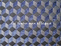 Tissu Osborne & Little - Ravenna Chenille - réf: F6140 - Coloris: 08 Denim - Voir en grand