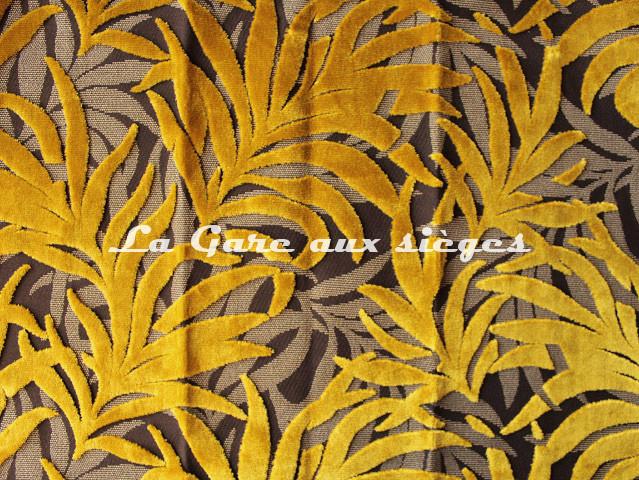 Tissu Casal - Jungle - réf: 12707 - Coloris: 43 Miel - Voir en grand