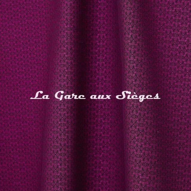 Tissu Jean Paul Gaultier - Optic - réf: 3494.05 Fuchsia - Voir en grand