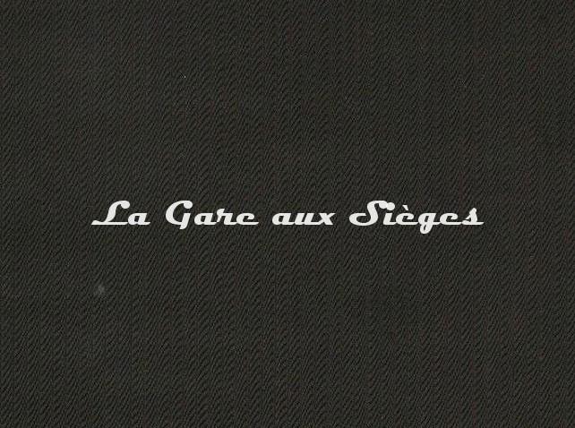 Tissu Pierre Frey - Corde - réf: F3375.003 Noir - Voir en grand