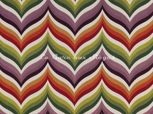Tissu Gaston y Daniela - Tampa - réf: GDT-5136-002 Multicolor - Voir en grand