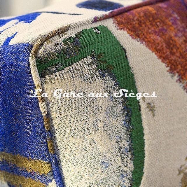 Tissu Pierre Frey - La Toile du Peintre - réf: F3528.001 ( détail ) - Voir en grand
