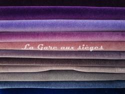 Tissu Nobilis - Velours Otello - Palette de couleur n°2 - Voir en grand