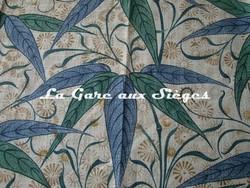 Tissu William Morris - Bamboo - réf: 222526 Thyme/Artichoke ( détail ) - Voir en grand
