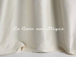 Tissu Pierre Frey - Soierie Alice - réf: F3279-001 Crème - Voir en grand