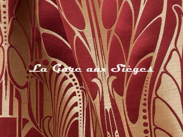 Tissu Tassinari & Châtel - Vitrail - réf: 1694.04 Laque - Voir en grand