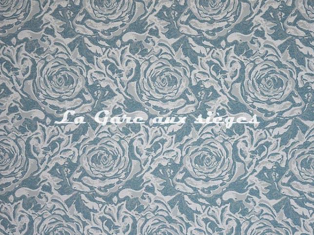 Tissu Casal - Callao - réf: 84001.12 Turquoise - Voir en grand
