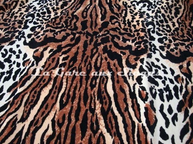 Tissu Casal - Pachuco - réf: 12827-01 Ocelot - Voir en grand