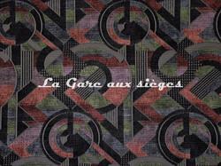 Tissu Casal - Sonia - réf: 16208.960 Violet Noir - Voir en grand