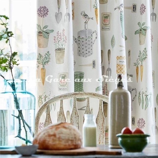 Tissu Sanderson - The Gardener - Voir en grand
