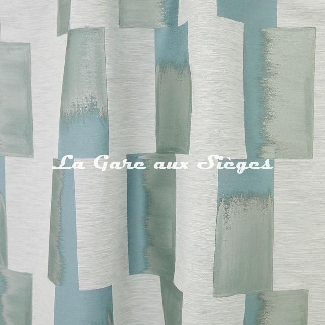 Tissu Lelièvre - Lhassa - réf: 628.02 Céladon - Voir en grand