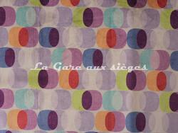 Tissu Deschemaker - Velours Cologne - Coloris: 3150 Parme - Voir en grand
