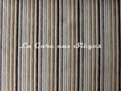 Tissu Casal - Funambule - réf: 16185 - Coloris: 7365 Ficelle Anthracite - Voir en grand