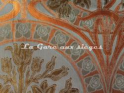 Tissu Verel de Belval - Silènes - réf: 99110-007 Piment - Voir en grand