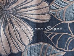 Tissu Deschemaker - Ipomea - réf: 3112 Saphir - Voir en grand