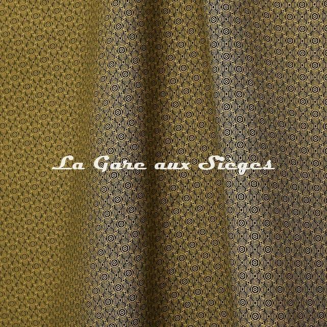 Tissu Jean Paul Gaultier - Optic - réf: 3494.02 Jaune - Voir en grand