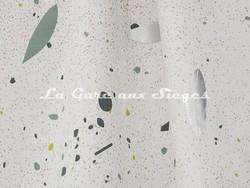 Tissu Lelièvre - Oléa - réf: 572.03 Argent - Voir en grand