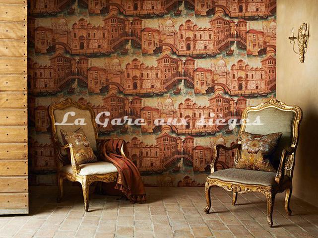 Papier peint Zoffany - The Gondoliers - Voir en grand