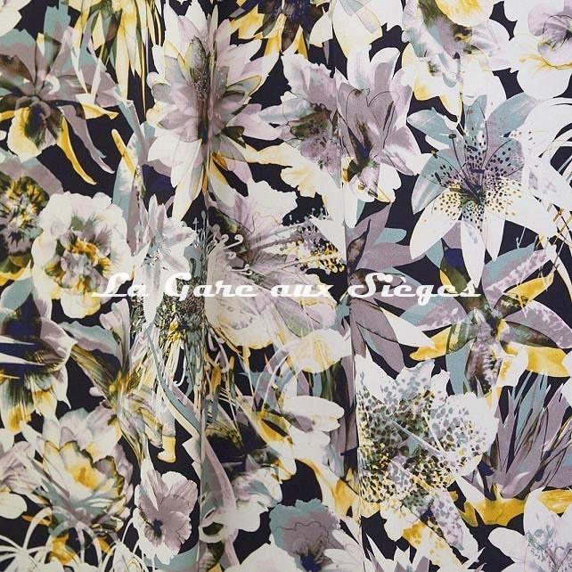 Tissu Jean Paul Gaultier - Hawaï - réf: 3496.03 Pastel ( suite ) - Voir en grand