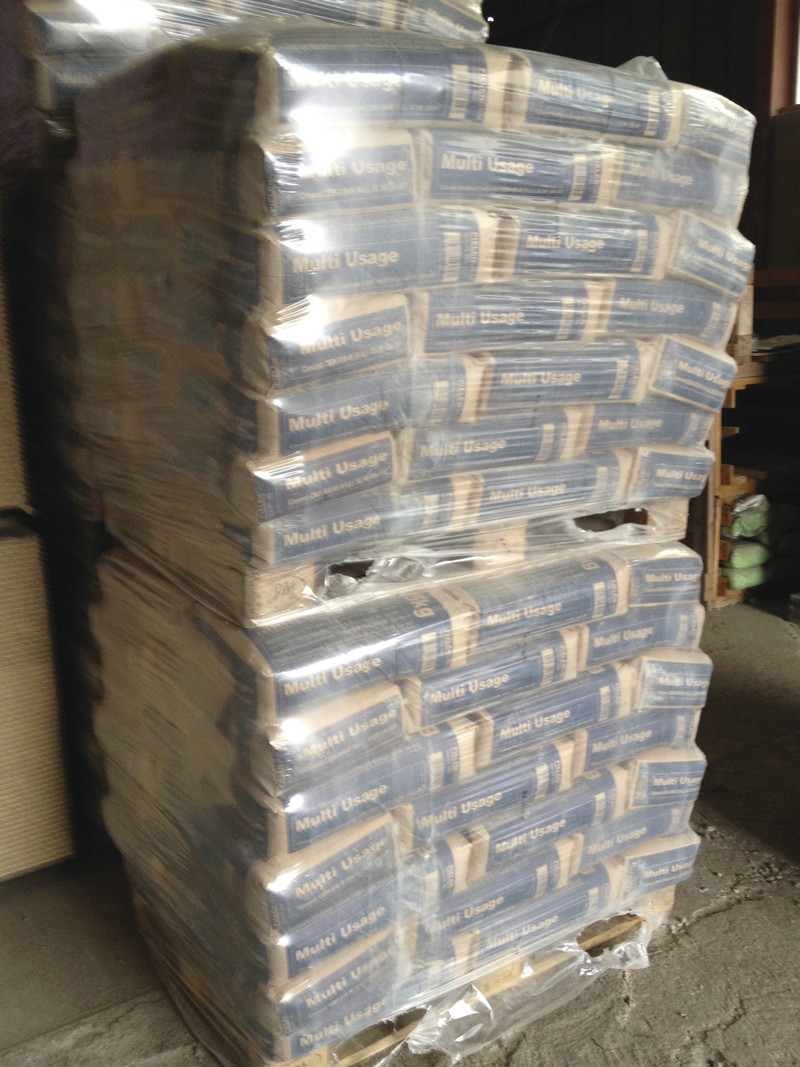 Ciment sac 25Kg disponible au dépôt de Foulain - Voir en grand