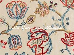 Tissu William Morris - Theodosia Embroidery - réf: 236822 ( détail ) - Voir en grand