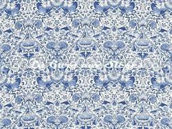 Tissu William Morris - Lodden - réf: 222523 China blue - Voir en grand