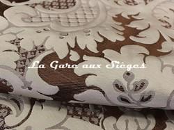 Tissu Tassinari & Châtel - Louis Philippe - réf: 1653.07 Argent - Voir en grand