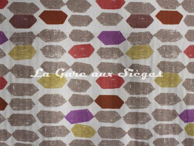 Tissu Casal - Magicien - réf: 30397-9288 Fuchsia Pervenche - Voir en grand
