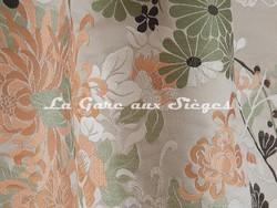 Tissu Jean Paul Gaultier - Lampas Kyoto - réf: 3466-01 Taupe - Voir en grand