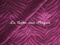Tissu Jim Thompson - Tigris velvet - réf: J3725/003 Fuschia - Voir en grand