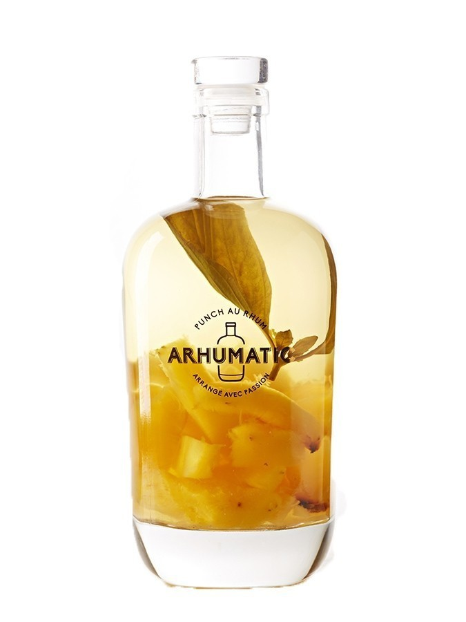 ARHUMATIC Ananas Rôti - Basilic (Basilicum Exoticum) 28% - RHUM ARRANGE - Charpentier Vins - Voir en grand