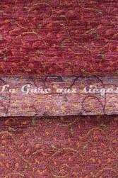 Tissu Amélie prévot - Torcy - réf: 16103 - Coloris: 92 Rose - 93 Vieux rose - 26 Brique - Voir en grand