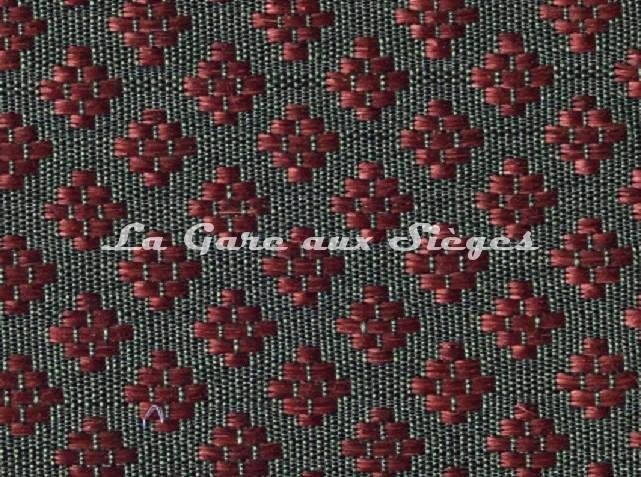 Tissu Le Crin - Nircel 229 - réf: C0229 - Coloris: 46 Vert Rouge - Voir en grand