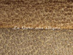 Tissu Chanée Ducrocq - Via Notte - Coloris: 2075 Sable - 2076 Taupe - Voir en grand