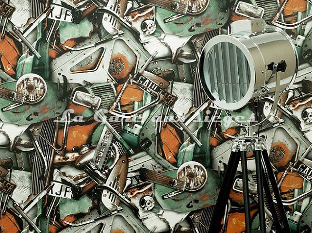 Papier peint Jean Paul Gaultier - Carambolage - Voir en grand