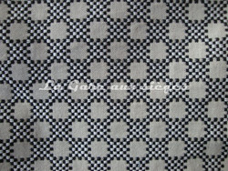 Tissu Boussac - Idaho - Réf: O7790-01 Coloris Ebène - Voir en grand