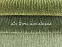 Tissu Chanée Ducrocq - Princesse - Coloris: 2373 Mélèze - 2387 Thym - 2386 Olivier - Voir en grand