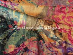 Tissu Deschemaker - Velours New Delhi - 3099 - Voir en grand