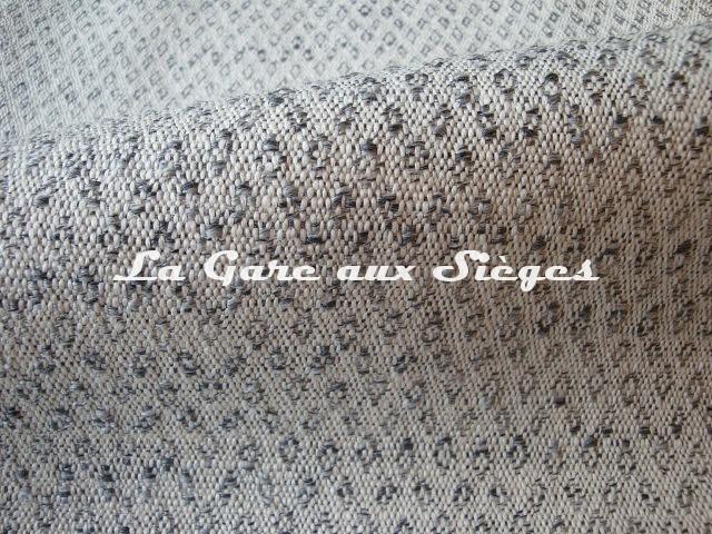 Tissu Dominique Kieffer - Subtil - réf: 17200 - Coloris: 03 Gris - Voir en grand