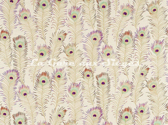 Tissu Sanderson - Themis - réf: DAEG222955 Sand - Voir en grand