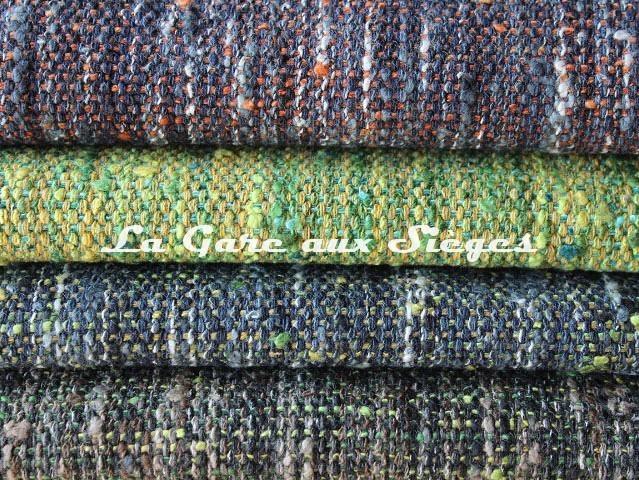 Tissu Dominique Kieffer - Tweed Couleurs - réf: 17224 - Coloris: 15 - 16 - 17 - 18 - Voir en grand