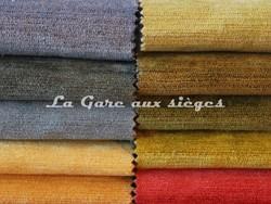 Tissu Deschemaker - Velous Colombo - Coloris: 3089-3092-3091-3081-3080 & 3083-3085-3086-3084-3064 - Voir en grand