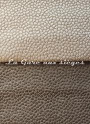 Tissu Deschemaker - Galuchat - réf: 103848 Bistre & 103850 Taupe - Voir en grand