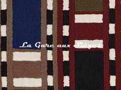 Tissu Pierre Frey - Limpopo - réf: F3357.002 Acajou ( détail ) - Voir en grand