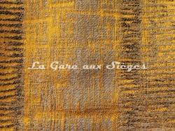 Tissu Casamance - Adage - réf: 3787.0672 Jaune or - Voir en grand
