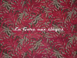 Tissu Casal - Jungle - réf: 12707.75 Grenat - Voir en grand