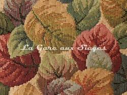 Tissu Chanée Ducrocq - Guyenne - réf: 6674 Crème ( détail ) - Voir en grand