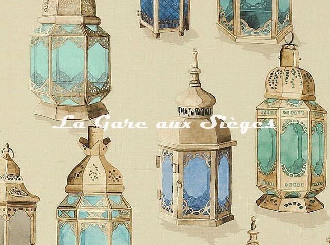 Tissu Manuel Canovas - Essaouira - réf: O4953.01 ( détail ) - Voir en grand